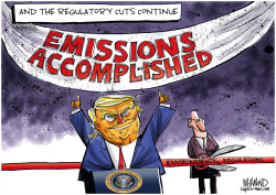 Emissions Accomplished by Dave Whamond
