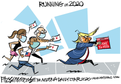 Running in 2020 by David Fitzsimmons