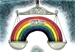 Equal Justice by Joe Heller