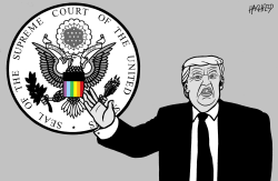 Supreme Court supports LGBTQ by Rainer Hachfeld