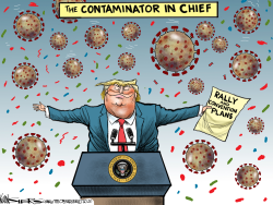 Contaminator in Chief by Kevin Siers