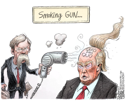 John Bolton Trump Book by Adam Zyglis