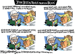 John Bolton Trump Book by David Fitzsimmons