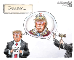 DACA ruling by Adam Zyglis