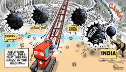 China attacks India by Paresh Nath