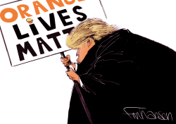 Orange Lives by Frank Hansen
