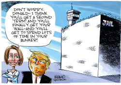 A second term for Trump by Dave Whamond
