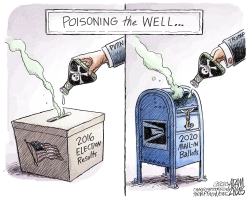 The Well of Democracy by Adam Zyglis