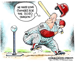 MLB 2020 season by Dave Granlund