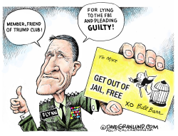 Flynn and Bill Barr assist by Dave Granlund