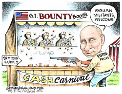 Putin bounty on GIs by Dave Granlund