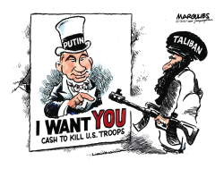 Russian Bounty for Taliban killing U.S. Troops by Jimmy Margulies