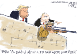 Palling With Putin  by Pat Bagley