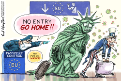 No Entry Go Home by Ed Wexler