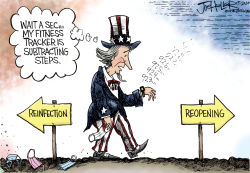 Reopening Reinfecting by Joe Heller