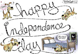Independence Day by Joe Heller