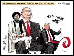 The Taliban, Putin and Trump by J.D. Crowe