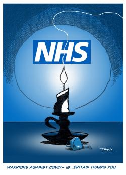72 Years of NHS by Tayo Fatunla