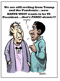KANYE WEST for US President 2020 by Tayo Fatunla