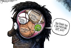 Sports Returns by Joe Heller