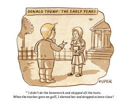 Donald Trump: The Early Years by Peter Kuper