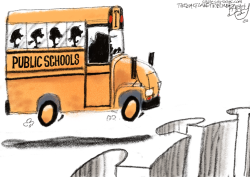 COVID School by Pat Bagley