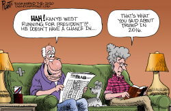 Kanye West for President? by Bruce Plante