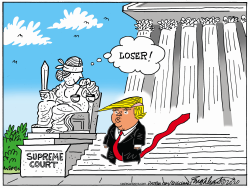 Supreme Court Loser by Bob Englehart