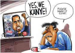 The Kanye West Wing by Dave Whamond