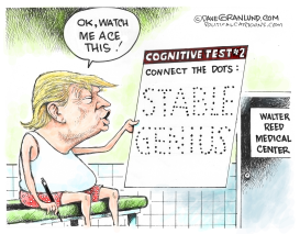 Trump Cognitive Test #2 by Dave Granlund