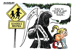Schools Reopen by Jimmy Margulies