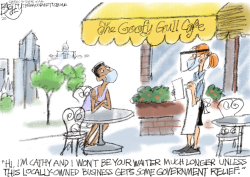 Bars and Restaurants by Pat Bagley