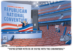 Trump Loyalty Test for RNC by R.J. Matson
