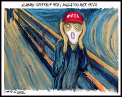 MAGA Scream Mask by J.D. Crowe