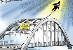 John Lewis RIP by Joe Heller