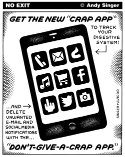 Crap App by Andy Singer