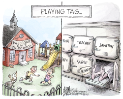 Back to school games by Adam Zyglis