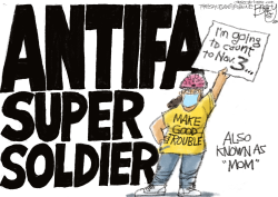 Protest Moms by Pat Bagley