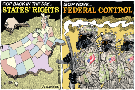 GOP Before and After by Monte Wolverton