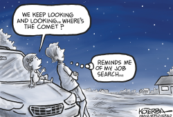 Searching for Comets and Jobs by Jeff Koterba