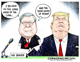 AG Barr and House testimony by Dave Granlund
