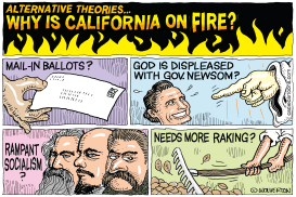 Why Is California on Fire? by Monte Wolverton