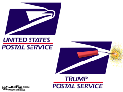 Postal Office by Kevin Siers