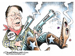 NRA Fraud and Abuse by Dave Granlund
