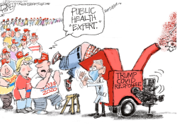 Dr. Fauci by Pat Bagley