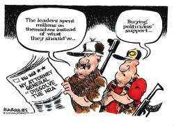 NY Attorney General and the NRA by Jimmy Margulies