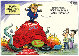 Trump Bump by Christopher Weyant