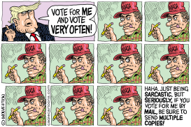 Vote More Than Once by Monte Wolverton