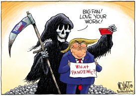 Trump's Biggest Fan by Christopher Weyant