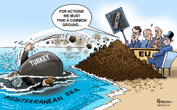 EU-Turkey tensions by Paresh Nath